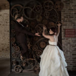 Pauline Herve_Maquilleuse Nantes_mariage_inspiration_Steampunk_couple