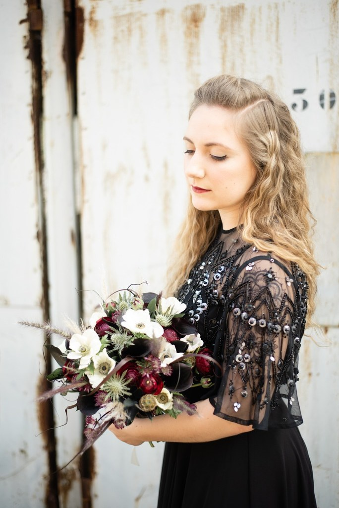 Pauline Herve_Maquilleuse Nantes_mariage_inspiration_rock_noir_metal_17