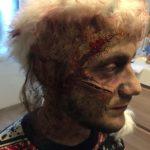 maquillage effets speciaux_ SFX_Zombie_Zombie profil_Morbide_Mathieur Sommet_Curry club_Noel_Pauline Herve_Maquilleuse Nantes_Maquilleuse SFX